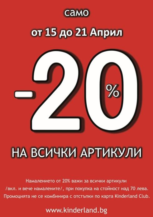 намаление детски дрехи - -20%