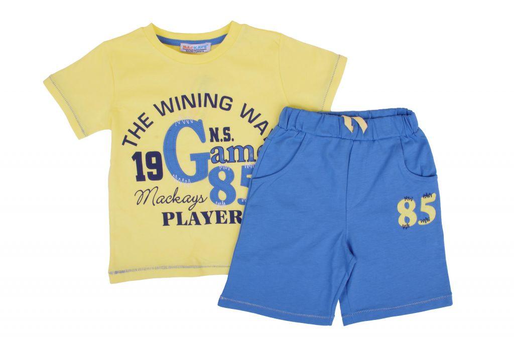 Детски Комплект тениска с панталонки