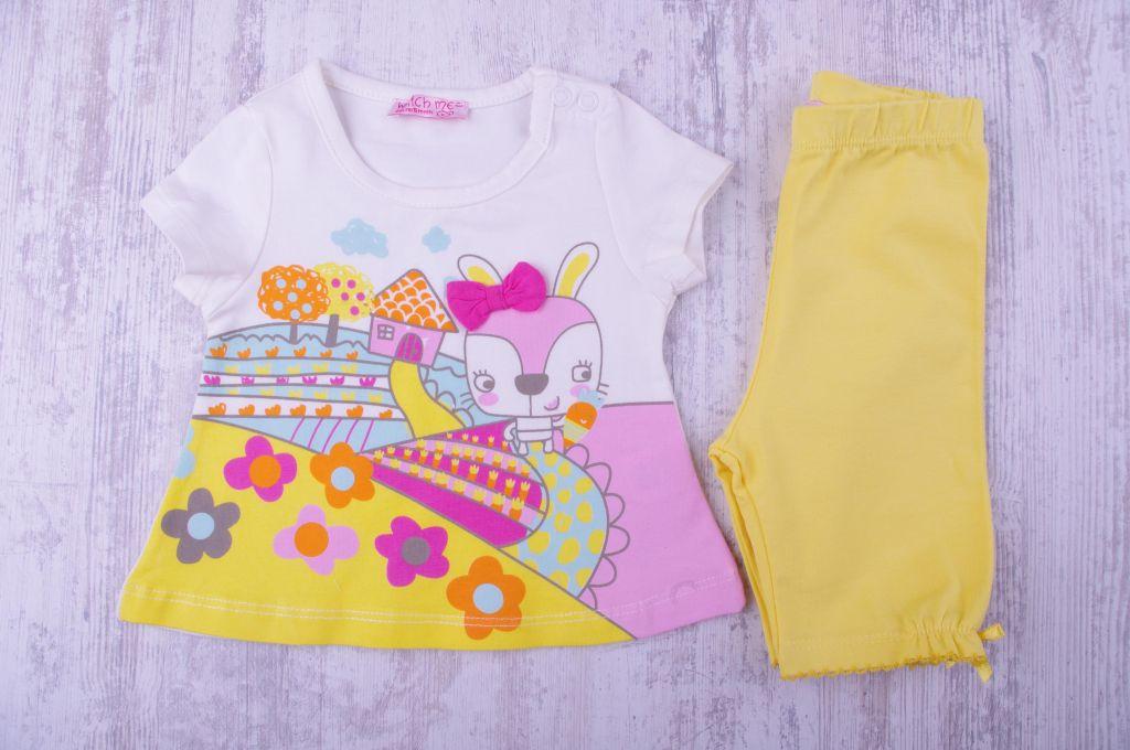 Бебешка Тениска с клин