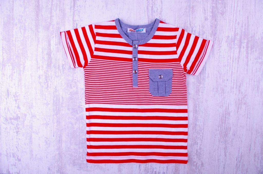 Детска Тениска с джобче