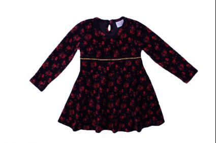 Рокля на цветчета - детски дрехи