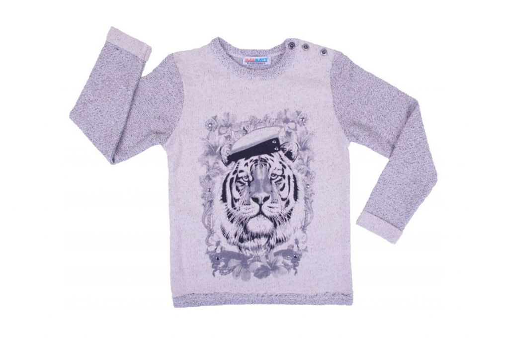 Блуза тип пуловер - детски дрехи