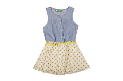 Рокля с колан - детски дрехи