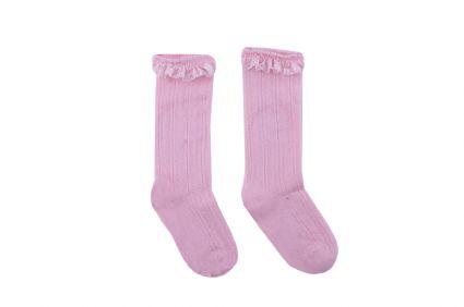 Чорапи с дантела - детски дрехи