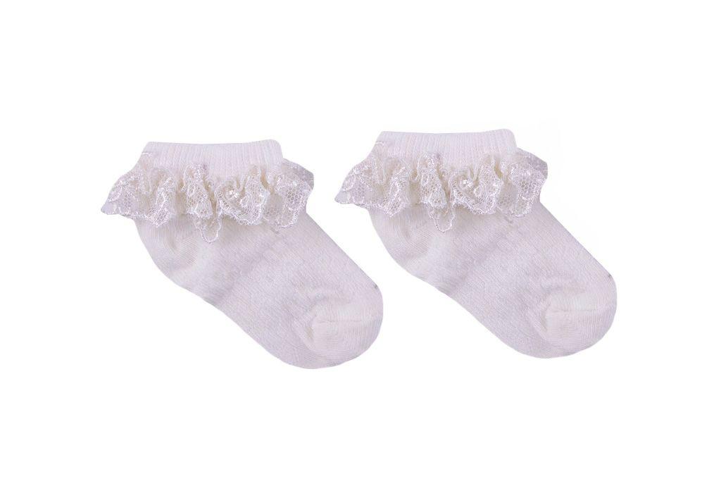 Чорапи момиче с дантела