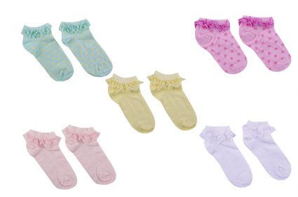 Sock girl (6 pcs)