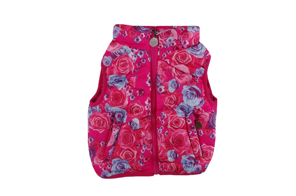 Грейка на цветя - детски дрехи