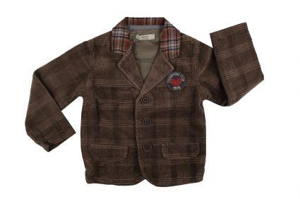 Сако кадифе момче - детски дрехи