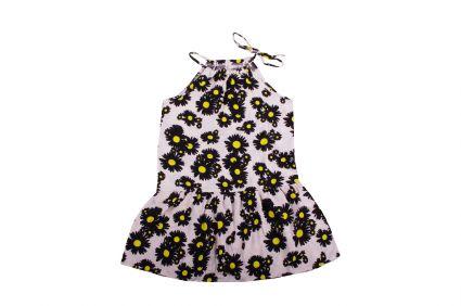 Рокля на цветя - детски дрехи