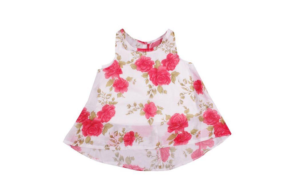 Туника на рози - детски дрехи