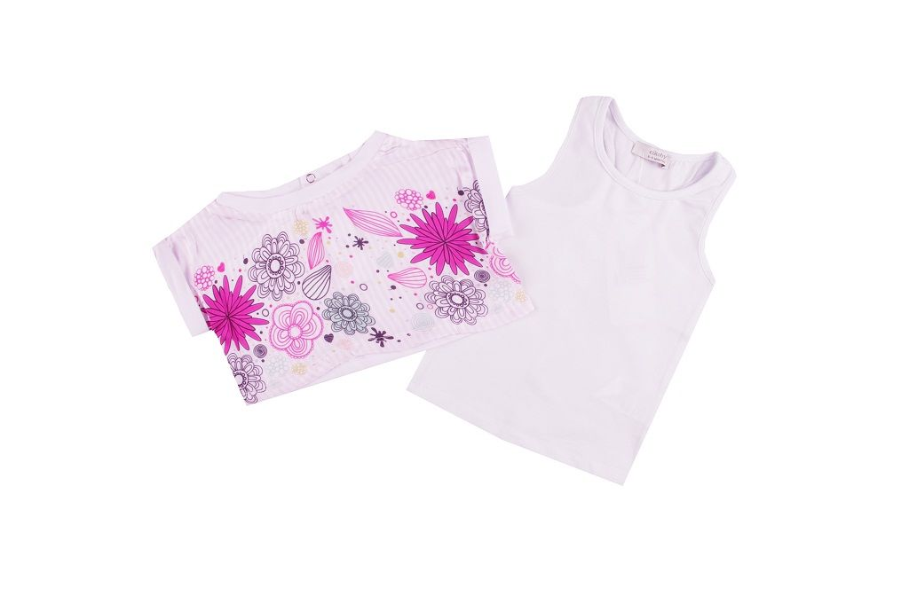 T-shirt with vest