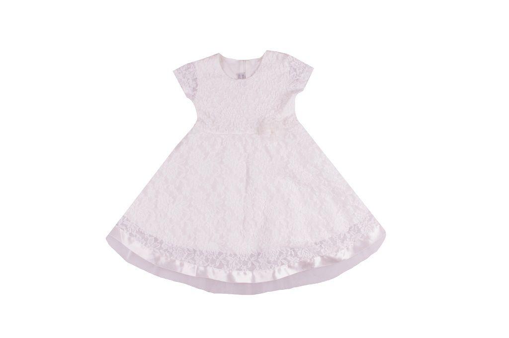 Рокля с памучна подплата и тюл - детски дрехи