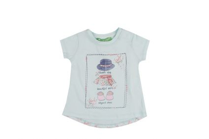 Туника къс ръкав - детски дрехи