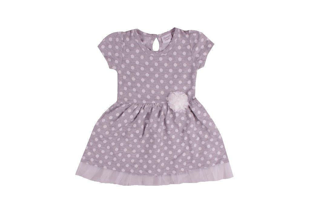 Рокля на точки - детски дрехи