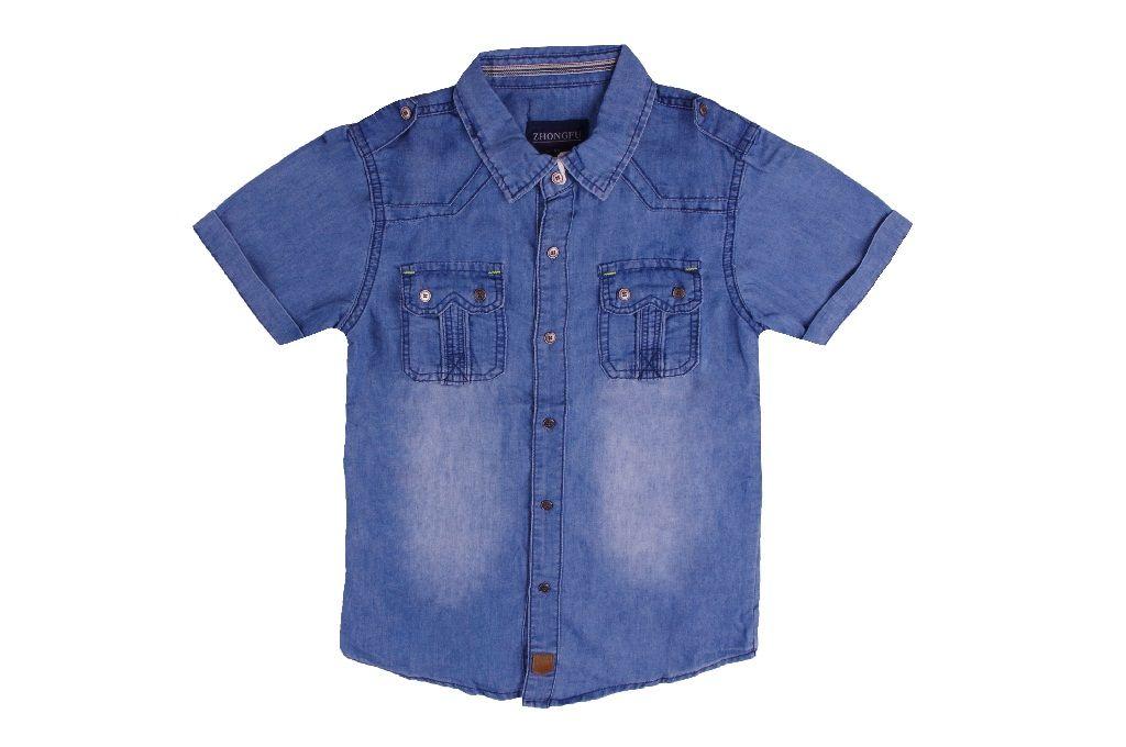 Детска Дънкова риза момче