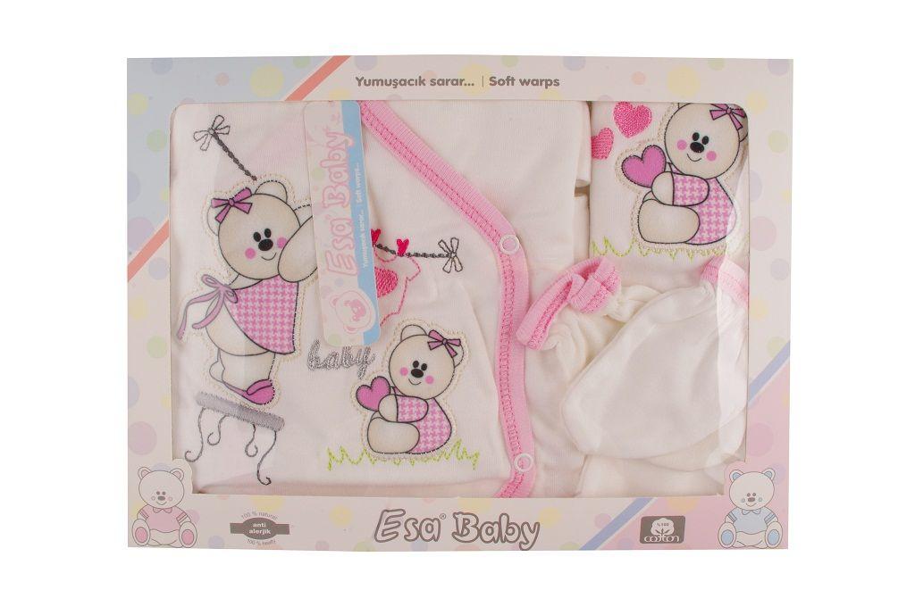 Кутия 5 части - детски дрехи