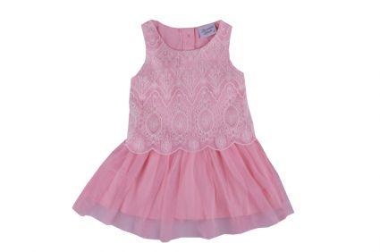 Рокля с тюл - детски дрехи