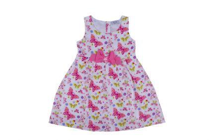 Рокля с панделка - детски дрехи