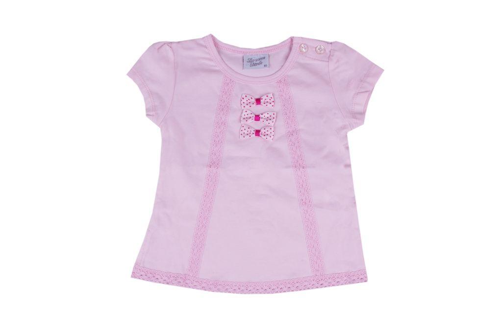 Тениска момиче с панделки
