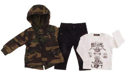 Яке, панталон и блуза