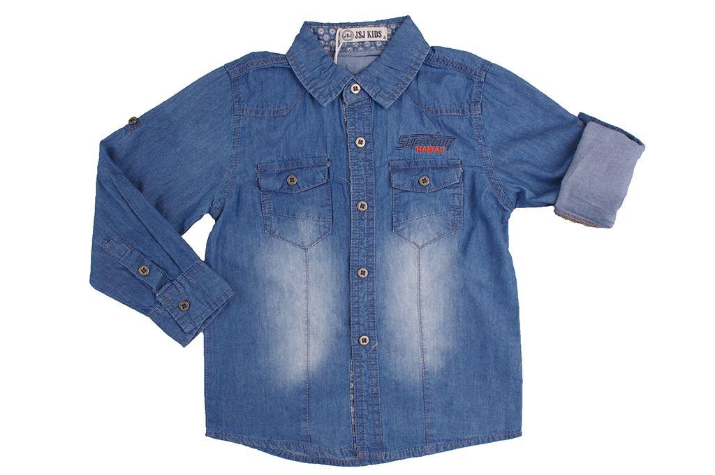bfe642f56f7 Детска Дънкова риза момче