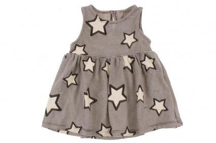 Бебешка Рокля на звездички