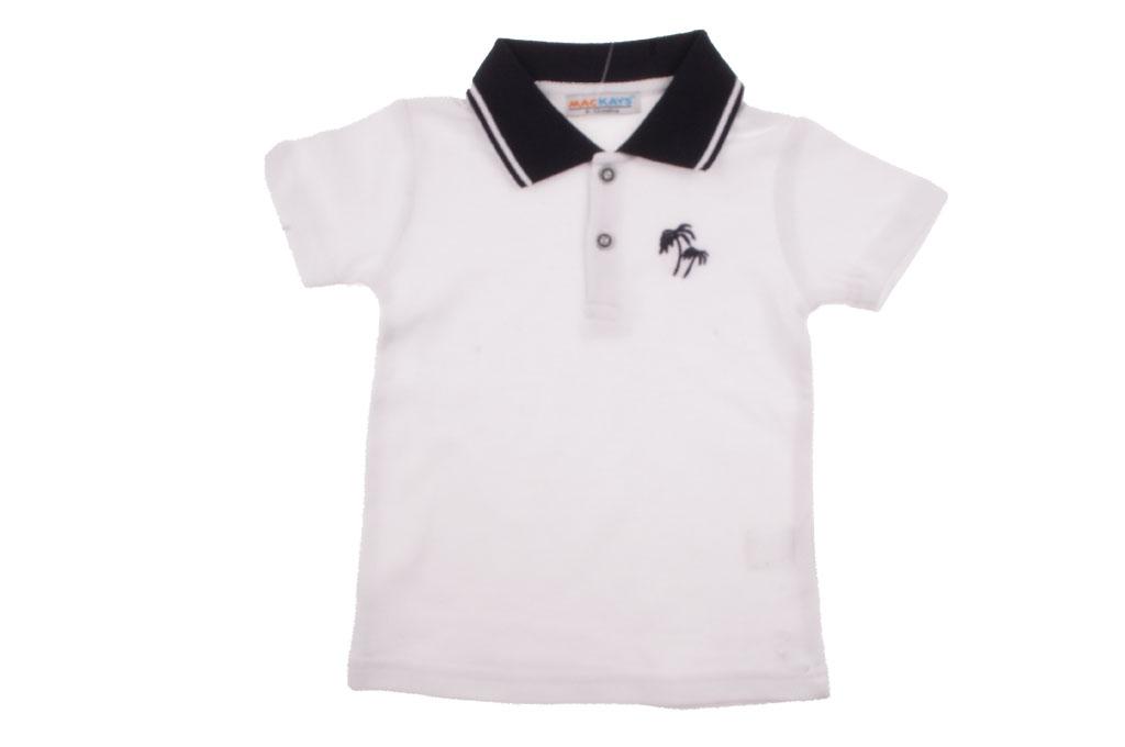 Тениска за момче с якичка
