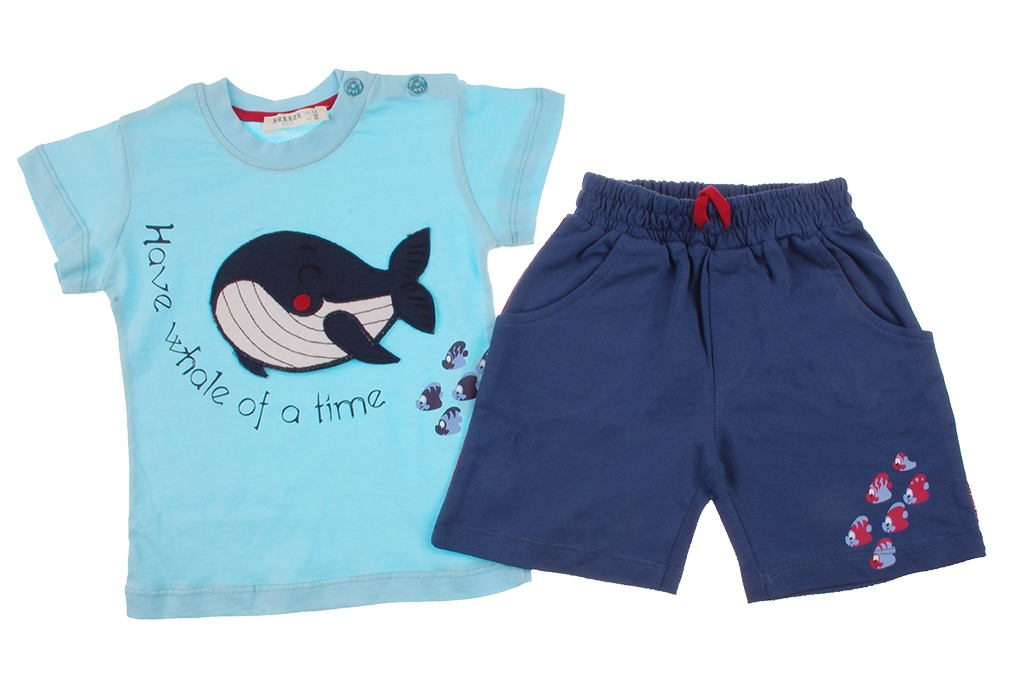 Set for boy t-shirt with trousers