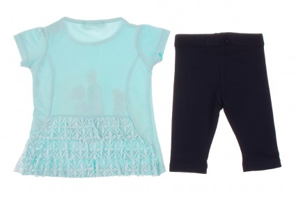 T-shirt set with wedge Baby girl clothes