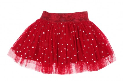 A skirt with a star tulle
