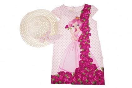 Детска Официална рокля с капела