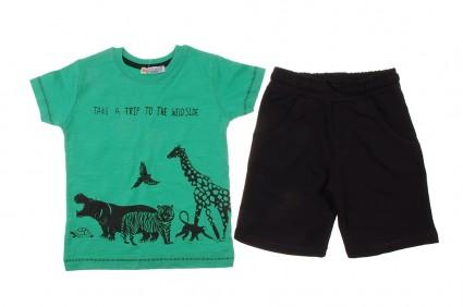 Комплект за момче тениска с панталонки