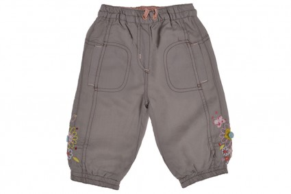Pants with lining girl