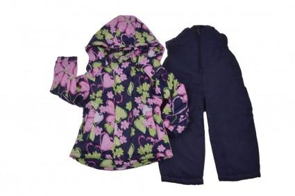 Jacket with overcoat girl