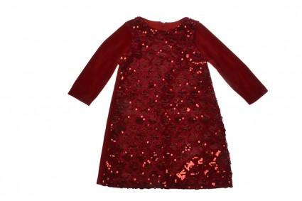 Официална рокля дълъг ръкав
