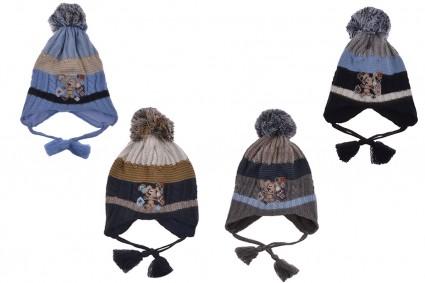Winter hat boy 6 pieces