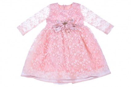 Dress a long sleeve with lace