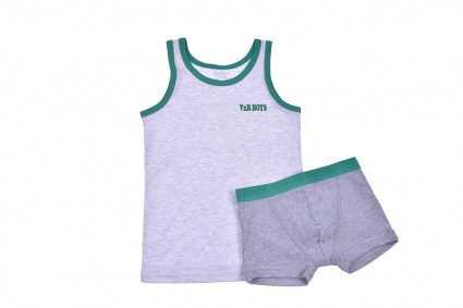 T-shirt set with boxer