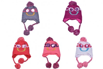 Winter hat girl 6 pieces