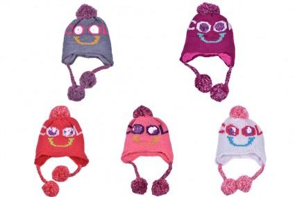 Зимна шапка момиче 6 броя
