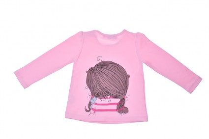 Blouse long-sleeved girl Baby girl clothes