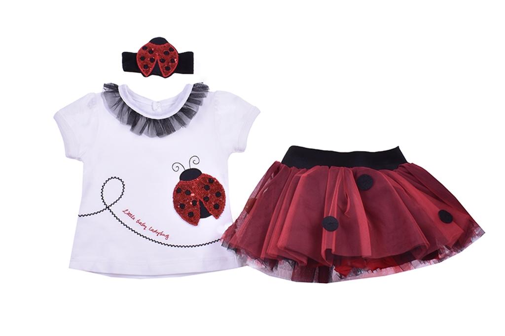 Short sleeve set for girl