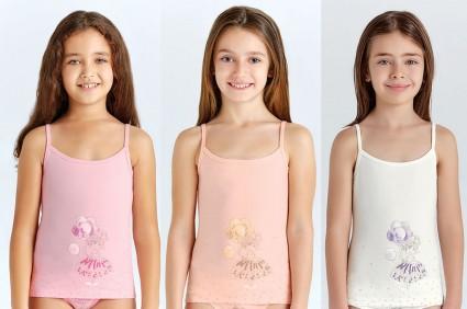 T-shirt girl 6 pieces