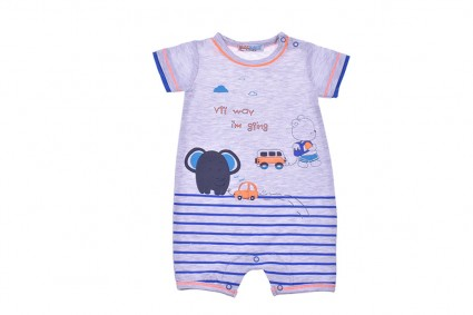 Overall short sleeve for boy