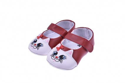 Decorative shoes for a girl