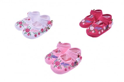 Decorative shoe for girl 12 pieces