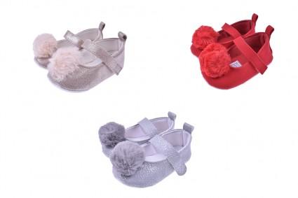 Декоративни обувки за момиче 12 броя