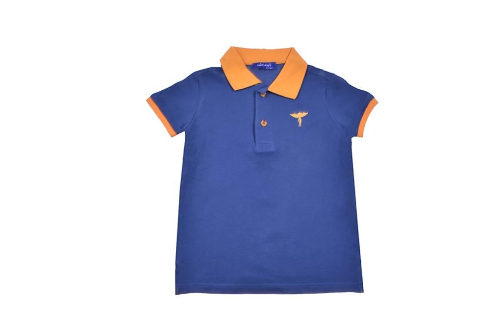 Детска Тениска момче с яка