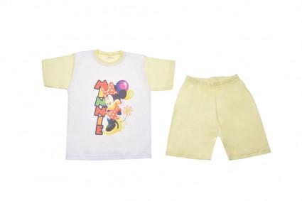 Пижама къс ръкав момиче - Mickey Mouse
