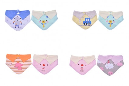 Set of bibs 12pcs.